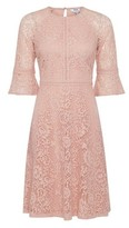 Dorothy Perkins Womens Dp Petite Blush 'Tilly' Fit And Flare Dress