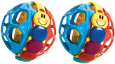 Baby Einstein Bendy Ball Rattle Toy - Set of Two