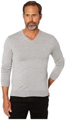 Calvin Klein Merino V-Neck Sweater 12 (Schio) Men's Sweater