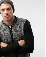 Express baseball cardigan