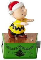 Hallmark Peanuts Charlie Brown Christmas Dance Party Figurine With Music and Motion
