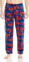 DC Comics Superman Shield Lightweight Fleece Lounge Pant for men