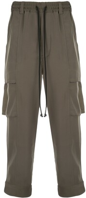 Song For The Mute Drawstring Cargo Trousers
