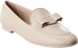 Salvatore Ferragamo Lesley Vara Bow Leather Loafer