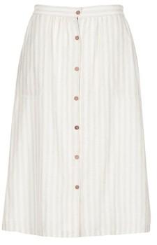 Betty London INNATIMBO women's Skirt in Beige