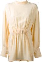 Marni pleated blouse - women - Silk/Acetate - 40