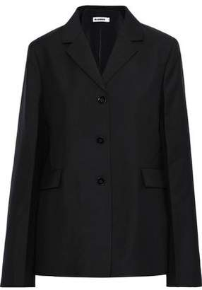 Jil Sander Wool And Mohair-blend Jacket