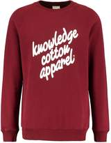 Knowledge Cotton Apparel Sweatshirt Tawny Red