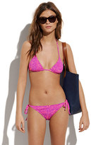 Areacode string bikini top