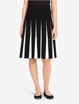 Calvin Klein Pleated Sweater Skirt