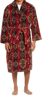 Majestic International Cotton Terry Velour Robe