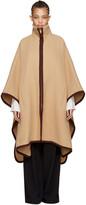 Chloé Tan Long Cape Coat