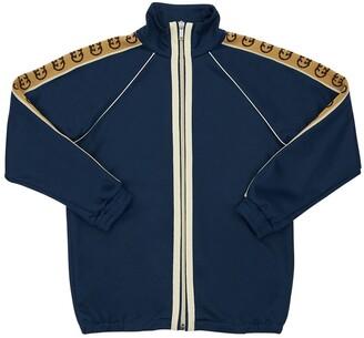 Gucci Cotton Blend Sweatshirt W/ Ribbon