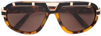 Cazal Tortoiseshell Effect Sunglasses