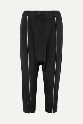 Olympia Activewear - Alexander Stretch-silk Track Pants - Black