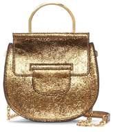 Louise et Cie Kaea Metallic Leather Bracelet Bag