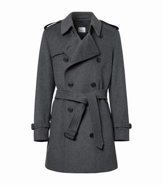 Burberry Wool-Cashmere Trench Coat