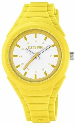 Calypso Unisex-Child Analogue Classic Quartz Watch with Plastic Strap K5724/6