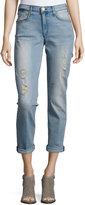McGuire Distressed Boyfriend Jeans, Como Dark Blue