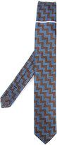 Title Of Work - zig zag tie - unisex - Silk - One Size