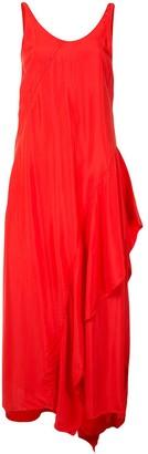 Kenzo Ruffle Detail Long Dress