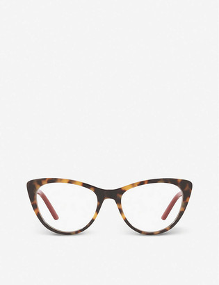 Prada PR 05XV Millenials acetate cat-eye glasses