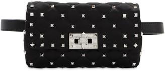Valentino Spike It Satin Belt Bag