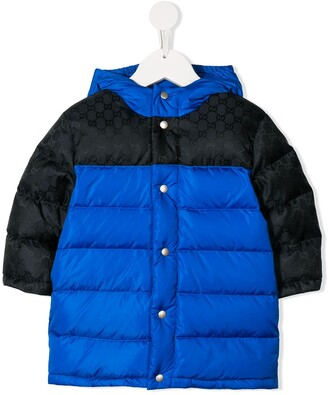 Gucci Kids GG padded coat