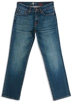 7 For All Mankind Boys' Vintage 7 Original Straight Leg Jeans - Sizes 8-16