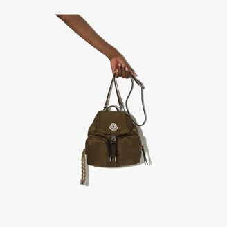 Moncler Green Dauphine small backpack