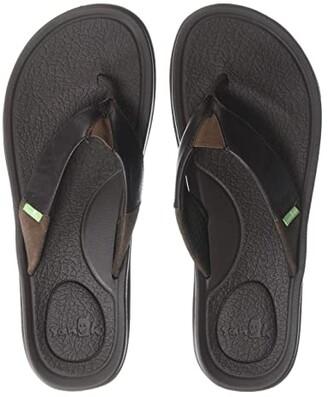 Sanuk Beer Cozy 3 Primo (Black) Men's Sandals