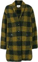 Etoile Isabel Marant Gino coat - women - Polyester/Wool/other fibers - 36