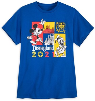 Disney Mickey Mouse and Donald Duck T-Shirt for Adults Disneyland 2021