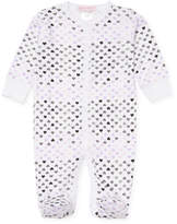 Baby Steps Chromatic Hearts Cotton Footie
