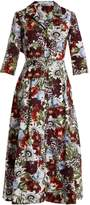 Erdem Kasia cotton-poplina shirtdress