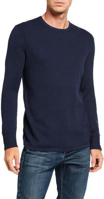 Rag & Bone Men's Davis Solid Wool-Linen Sweater