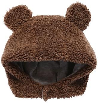 Il Gufo Bear Plush Hood