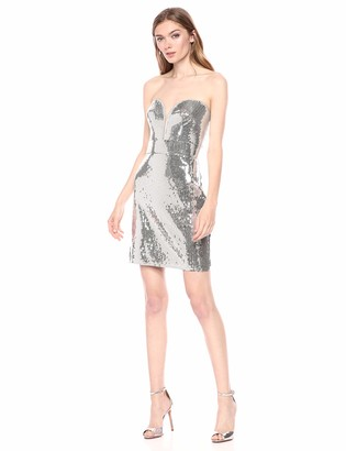 SHO Women's Strapless Sequin Dress