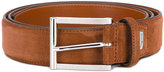 Santoni classic belt - men - Suede - 100