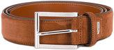 Santoni classic belt - men - Suede - 95