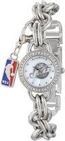 Game Time Women's NBA-CHM-UTA Charm NBA Series 3-Hand Analog Watch