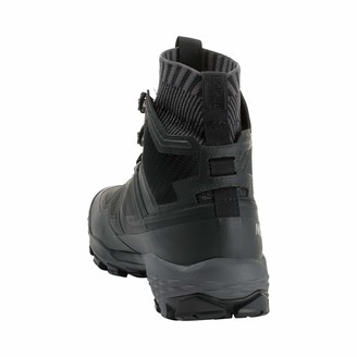 Mammut Duck Knit High GTX Mountain Boots Mountaineering and Trekking Men Multi-Colour (Black/Titanium) 48 2/3