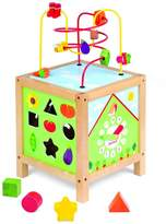 Janod Garden Themed Maxi Activity Cube