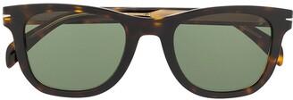 David Beckham Eyewear tinted tortoiseshell sunglasses