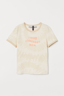 H&M Graphic T-shirt - White