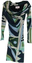 Emilio Pucci Green Wool Dress for Women