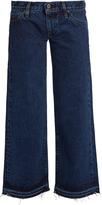 Simon Miller Varra low-rise wide-leg cropped jeans