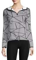 Beyond Yoga Chromatic Hooded Pullover