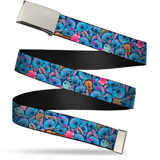 Buckle Down Buckle-Down Unisex-Adults Web Belt Lilo and Stitch1.5