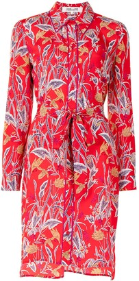 Diane von Furstenberg Prita botanical-print dress
